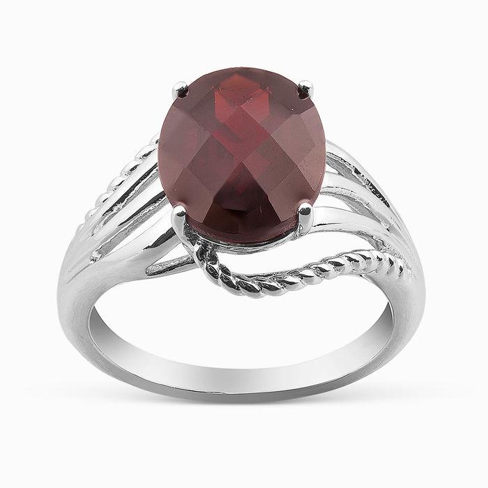 Серебряное кольцо Гранат арт. 06071 06071