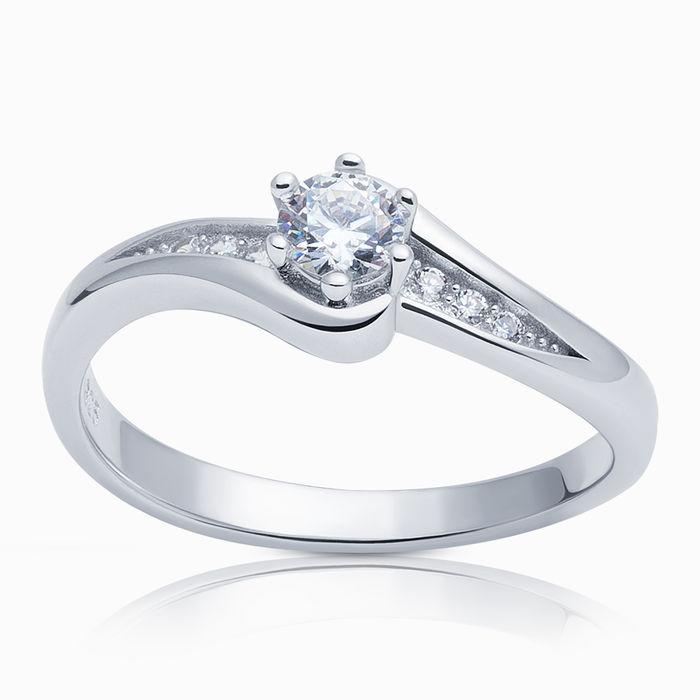 Серебряное кольцо Фианит арт. 06182 06182