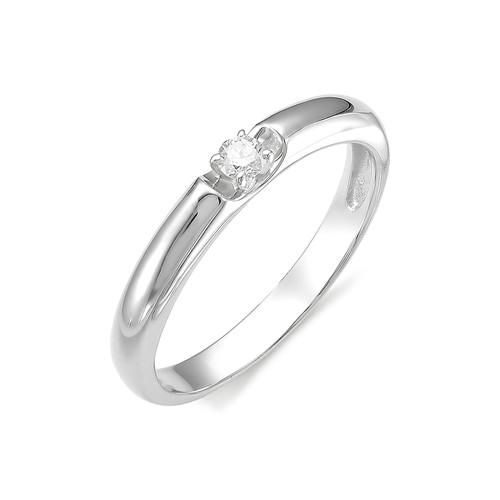 1655-200 Кольцо из белого золота