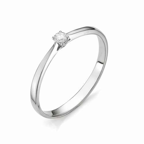 12066-200 Кольцо из белого золота