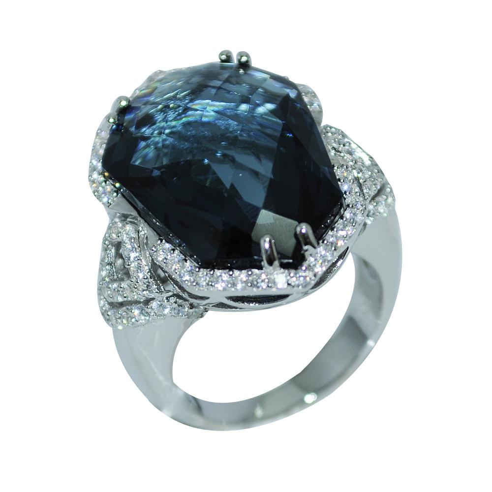 RDS126-55 Серебряное кольцо