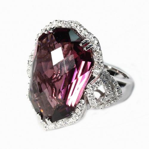 RDS126-56 Серебряное кольцо