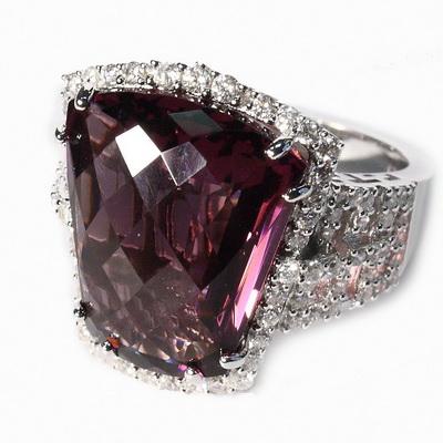 RDS128-56 Серебряное кольцо