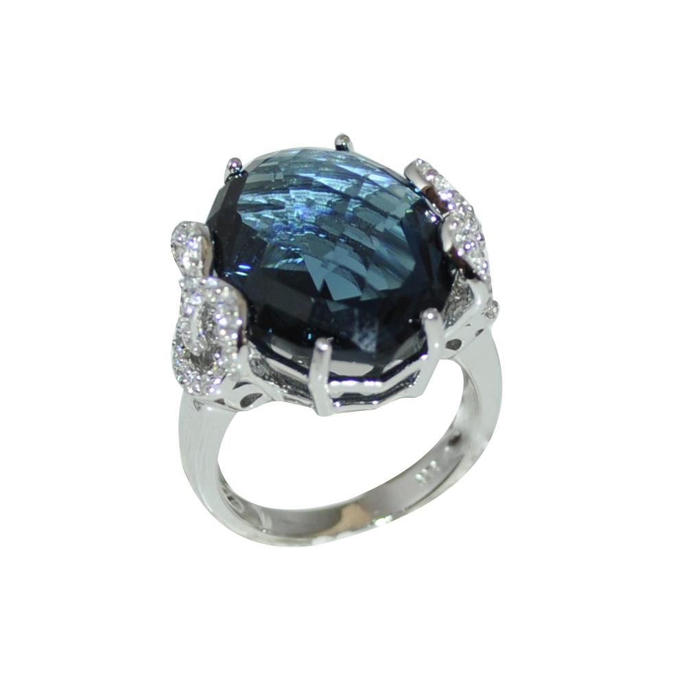 RDS132-55 Серебряное кольцо