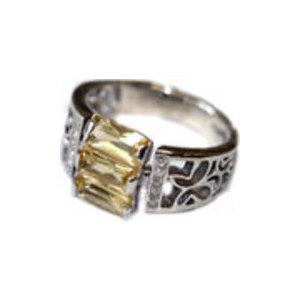 4к-5163-04 Серебряное кольцо