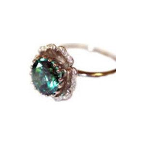 4к-636-04 Серебряное кольцо