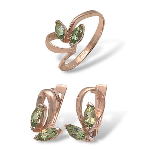 4к-182-05 Серебряное кольцо