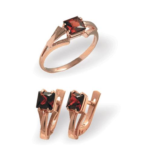 4к-252-05 Серебряное кольцо