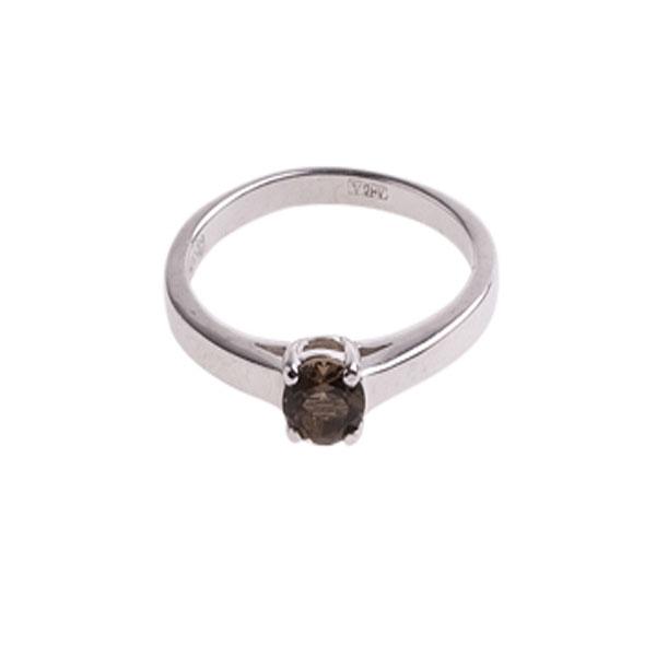 4к-5263-04 Серебряное кольцо