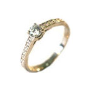 Серебряное кольцо Аметист и Фианит арт. 4к-5009-04 4к-5009-04