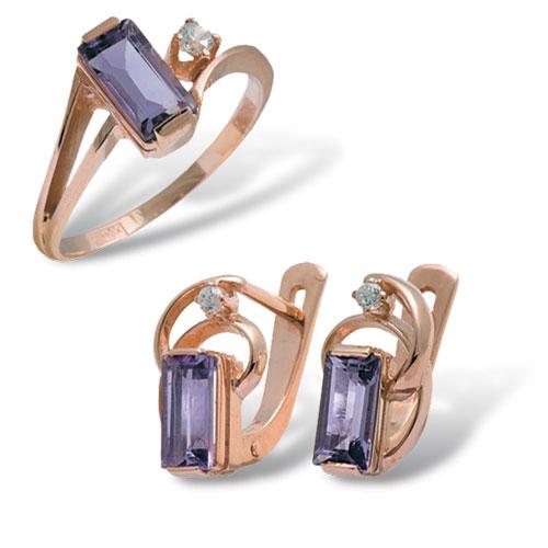 4к-437-04 Серебряное кольцо