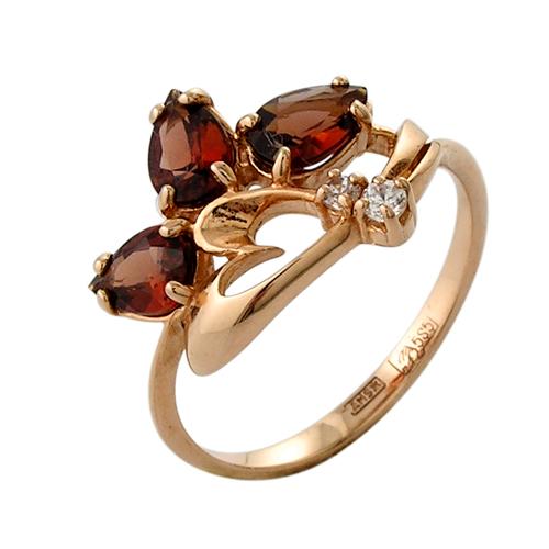 4к-598-05 Серебряное кольцо