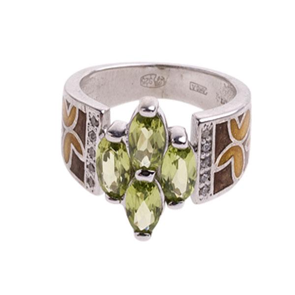4к-5162-04 Серебряное кольцо