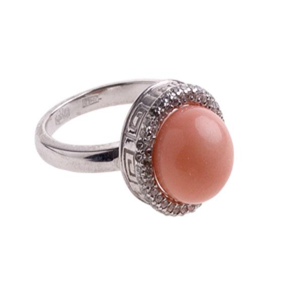 4к-5056-04 Серебряное кольцо
