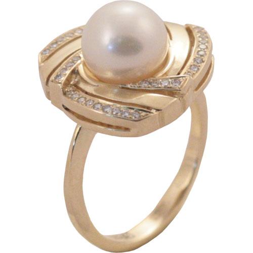 4к-5034-04 Серебряное кольцо