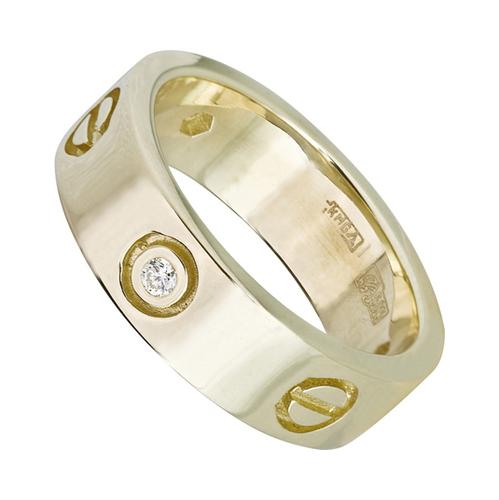 4к-5115-04 Серебряное кольцо