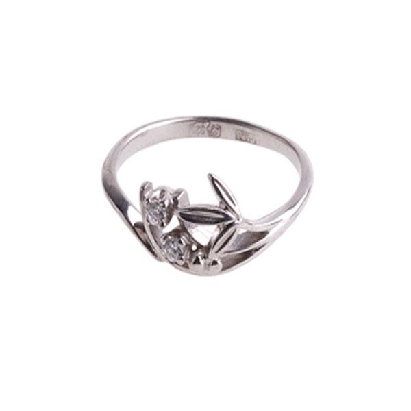 4к-5227-04 Серебряное кольцо