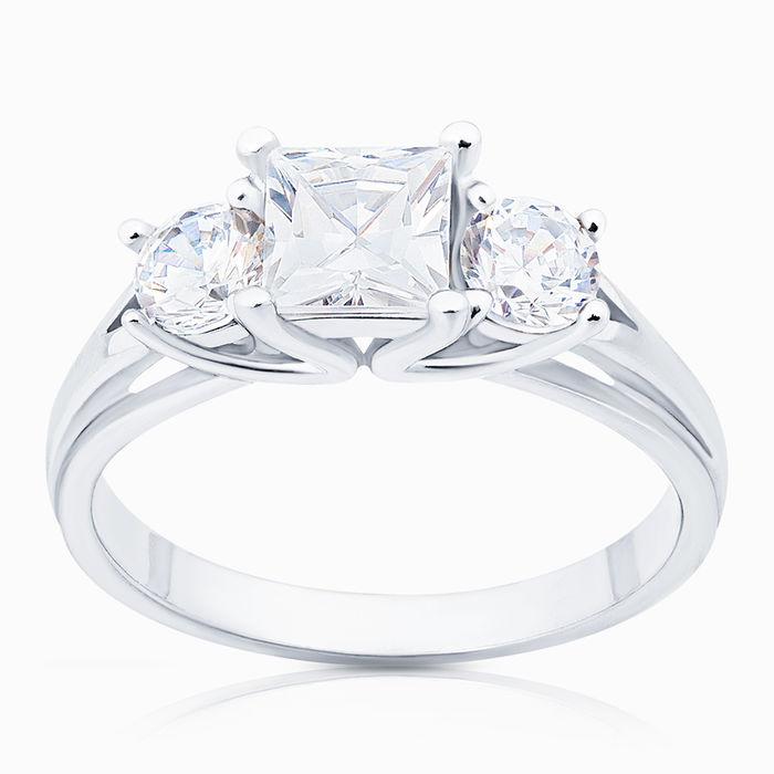 Серебряное кольцо Фианит арт. 04797 04797