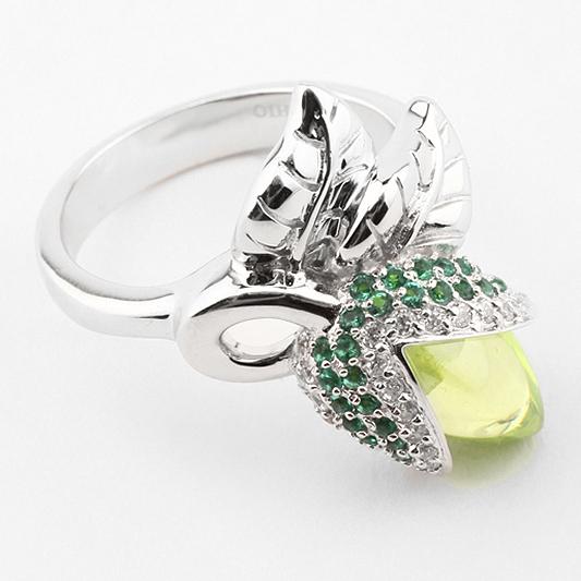 r907202 Серебряное кольцо