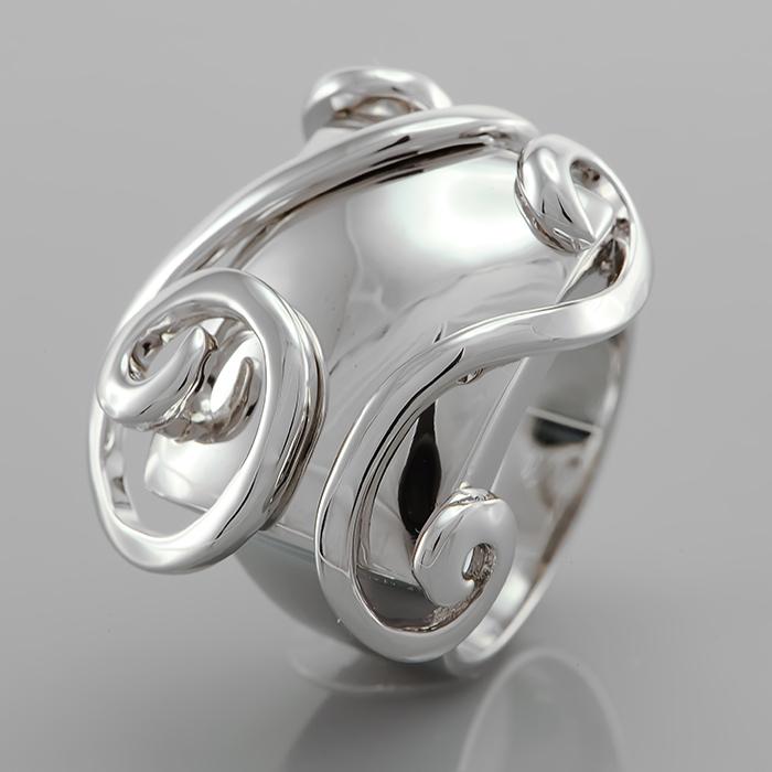 Серебряное кольцо Без вставки арт. r903622-1 r903622-1