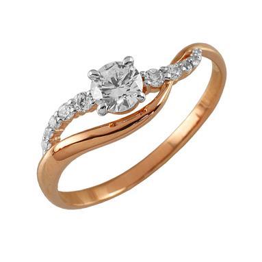 Золотое кольцо Фианит арт. 3189 3189