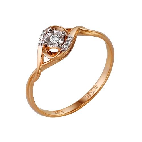 Золотое кольцо Бриллиант арт. 1-105-161/5 1-105-161/5