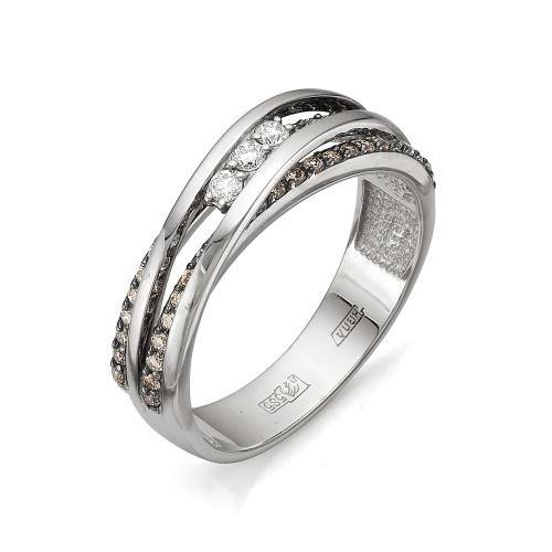 1-105-610 Кольцо из белого золота