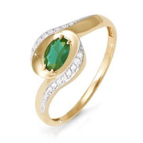 бр310013 Золотое кольцо