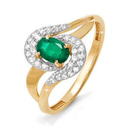 бр310075 Золотое кольцо