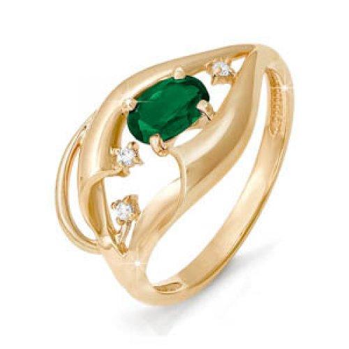 бр310110 Золотое кольцо