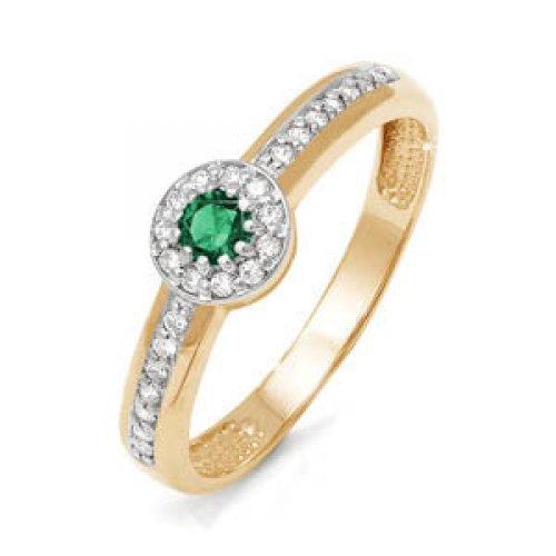 бр310089 Золотое кольцо