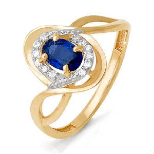 бр210073 Золотое кольцо