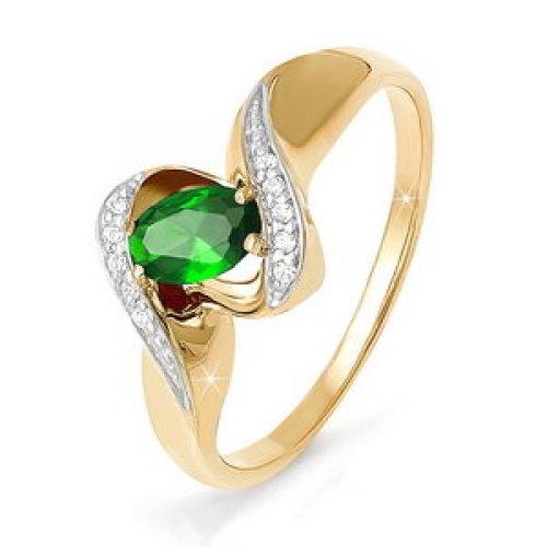 бр310019 Золотое кольцо