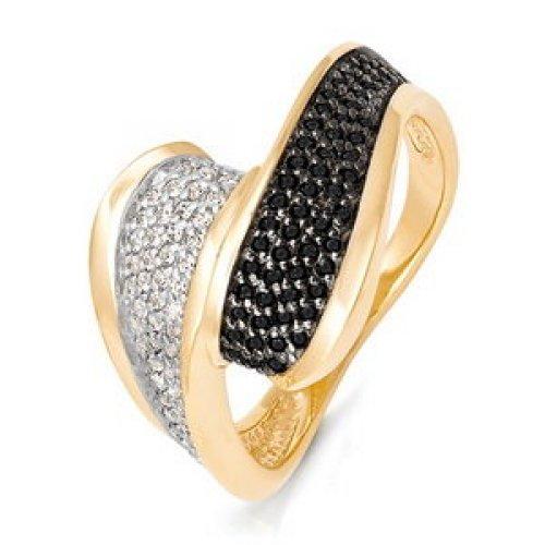 бр510014 Кольцо из белого золота