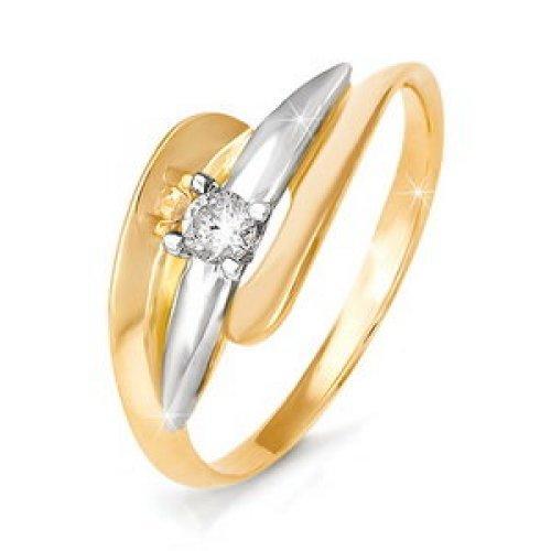 бр110023 Золотое кольцо