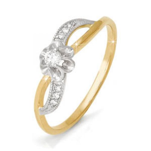 бр110095 Золотое кольцо