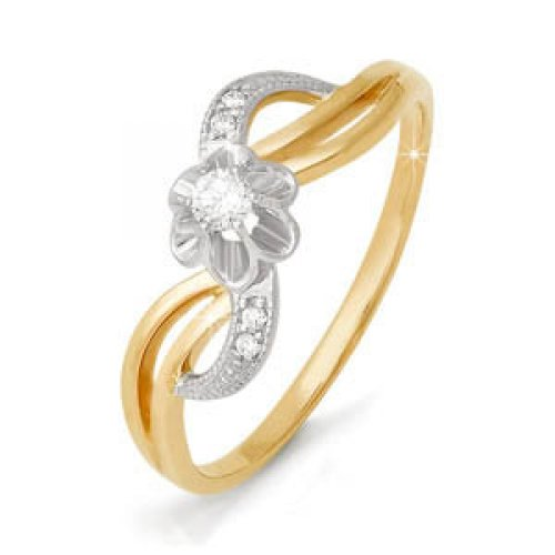 бр110102 Золотое кольцо