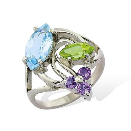 1291р Серебряное кольцо