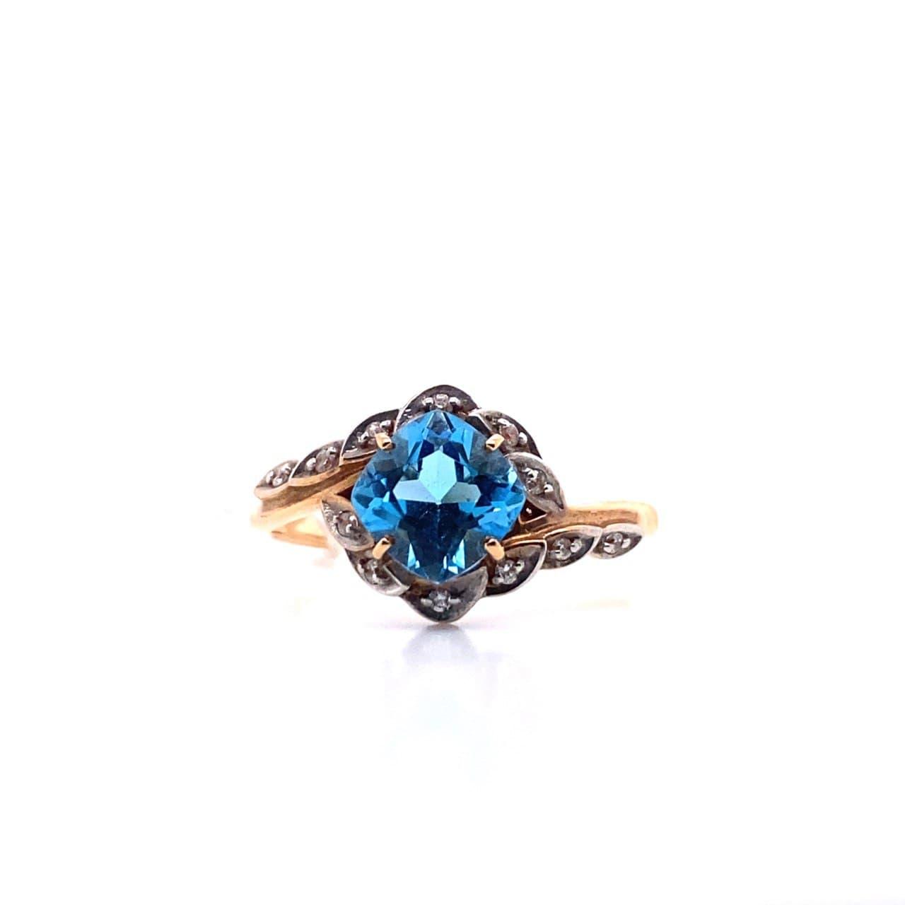 Золотое кольцо 1206712Тт