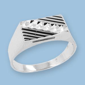 02120001-6 Серебряная печатка