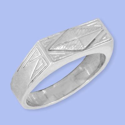 04120085-6 Серебряная печатка