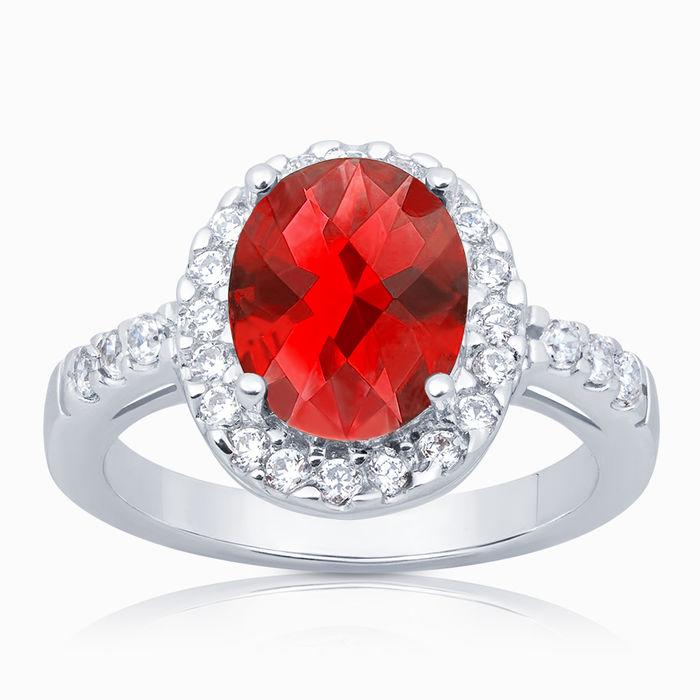 Серебряное кольцо Фианит арт. 02674 02674