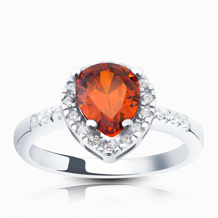 Серебряное кольцо Фианит арт. 02663 02663