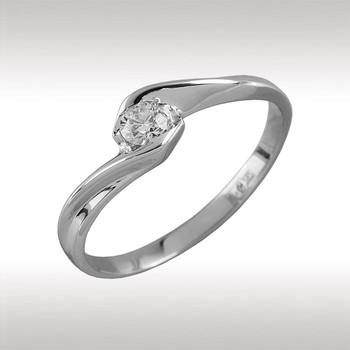 90029 Кольцо из белого золота