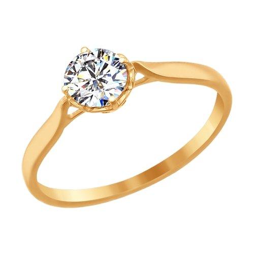 81010079 Золотое кольцо