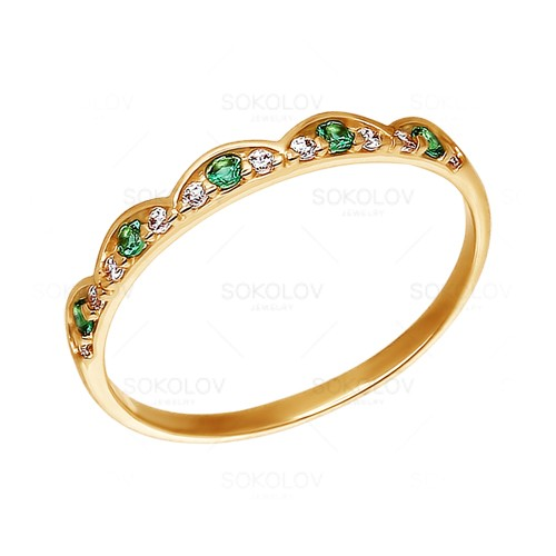 015881 Золотое кольцо