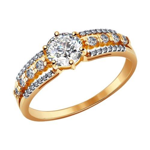 81010093 Золотое кольцо