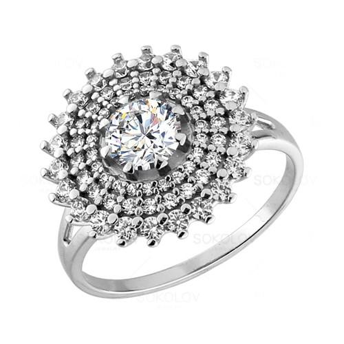 94011087 Серебряное кольцо