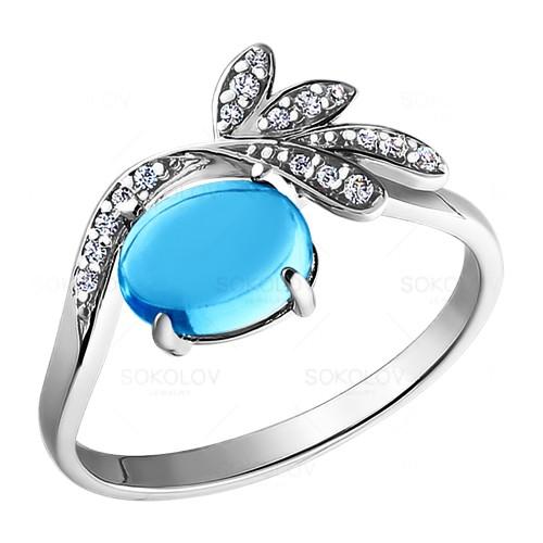 92010696 Серебряное кольцо