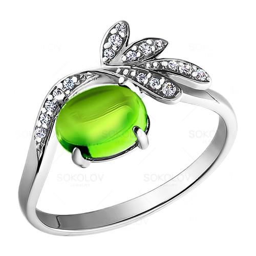 92010698 Серебряное кольцо